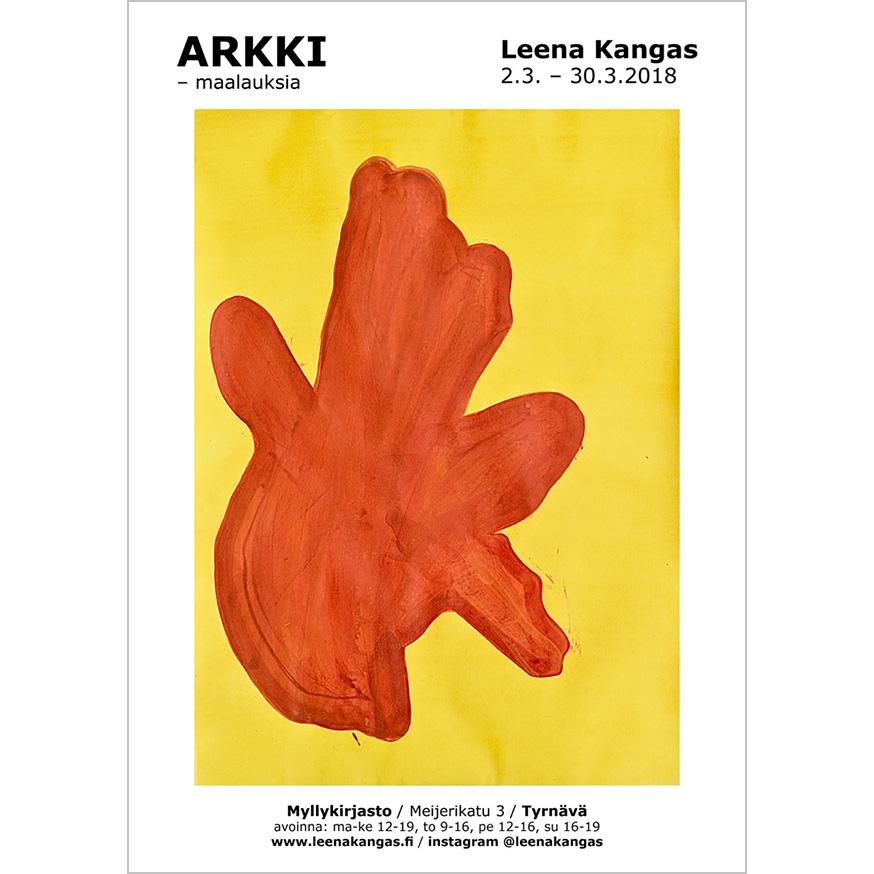 LeenaKangas_ARKKI_poster