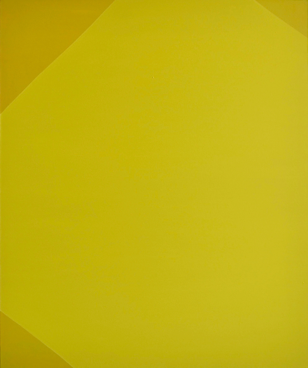 Painting (Yellow) // Maalaus (keltainen), 2013, acrylic on canvas, 120 x 100 cm