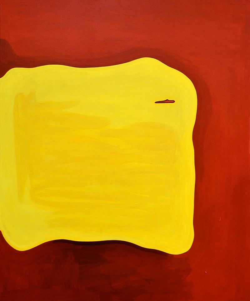 Because of You // Vuokses sun, 2014, acrylic on canvas, 120 x 100 cm