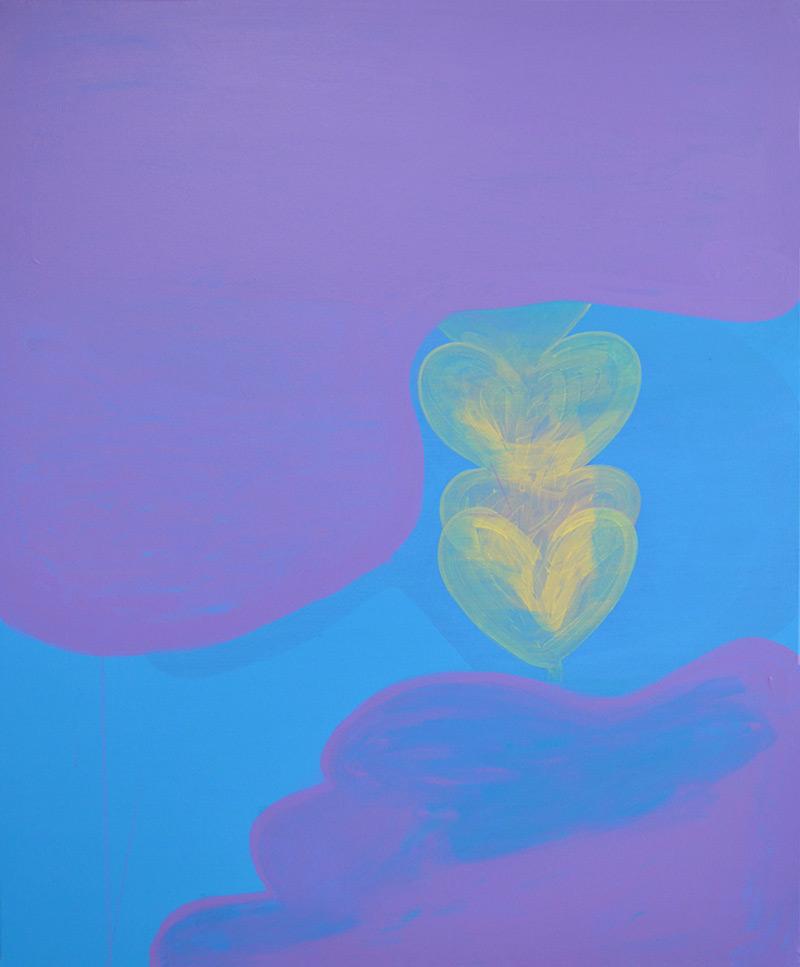 Last Flower // Viimeinen kukka, 2014, acrylic on canvas, 120 x 100 cm